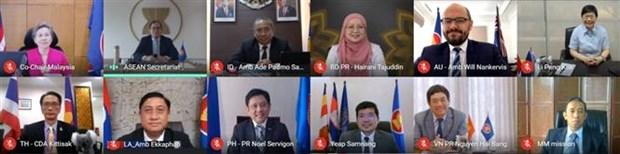ASEAN, Australia discuss cooperation orientations hinh anh 1