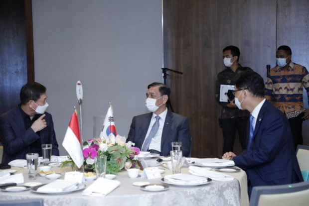 Indonesia, RoK bolster economic cooperation hinh anh 1