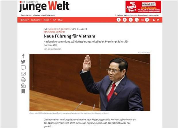 German media spotlights Vietnam's new leadership hinh anh 1