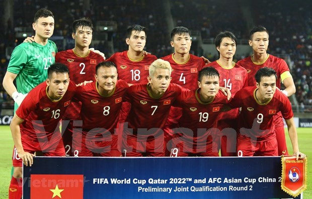 National men's football team posts highest FIFA ranking in 20 years hinh anh 1