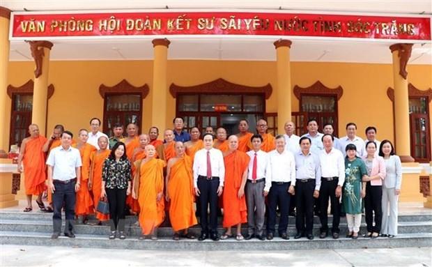 Permanent Vice NA Chaiman pays Chol Chnam Thmay visit to Soc Trang hinh anh 1