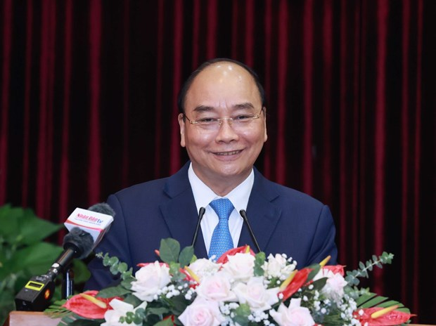 President lauds Da Nang, Quang Nam for achievements hinh anh 1