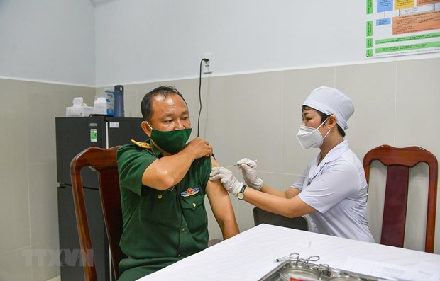 Vietnam reports no new COVID-19 cases on April 11 morning hinh anh 1