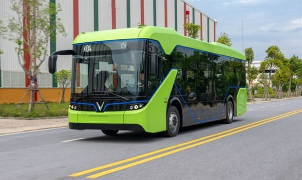 HCM City gets green light to trial electric buses hinh anh 1