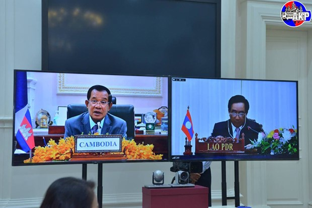 Cambodia, Laos agree to promote bilateral, multilateral cooperation hinh anh 1