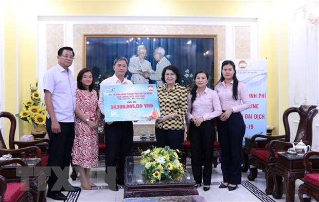Over 34 billion VND for COVID-19 vaccine purchase in HCM City hinh anh 1