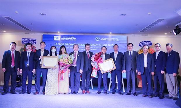 More universities seek quality accreditation from domestic, int'l organisations hinh anh 1