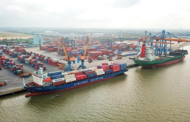 ASEAN share of US-bound container shipping surpasses 20 pct for first time hinh anh 1