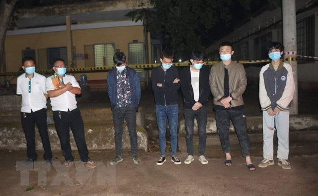 Binh Phuoc quarantines five foreigners entering Vietnam illegally hinh anh 1