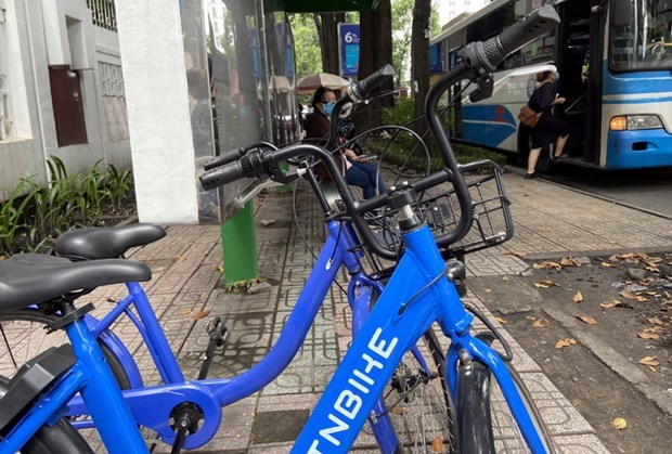HCM City to launch public bike service in August hinh anh 1