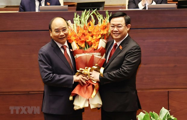 More congratulations come in for Vietnam's new leadership hinh anh 1