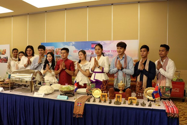 New Year for Cambodia, Laos, Thailand celebrated in Ba Ria-Vung Tau hinh anh 1