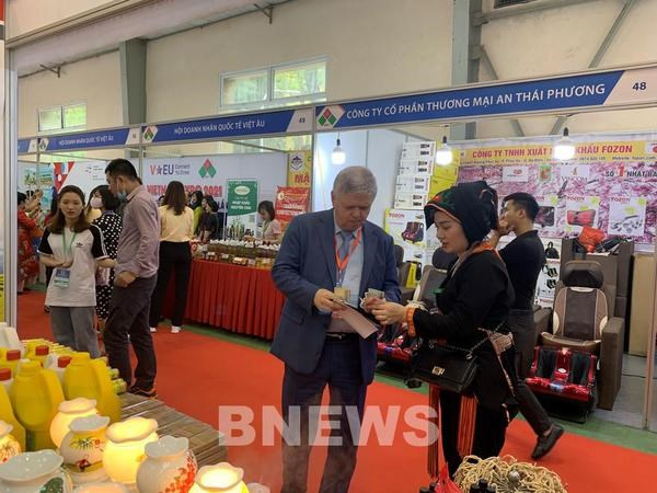 2021 Vietnam Expo opens in Hanoi hinh anh 1