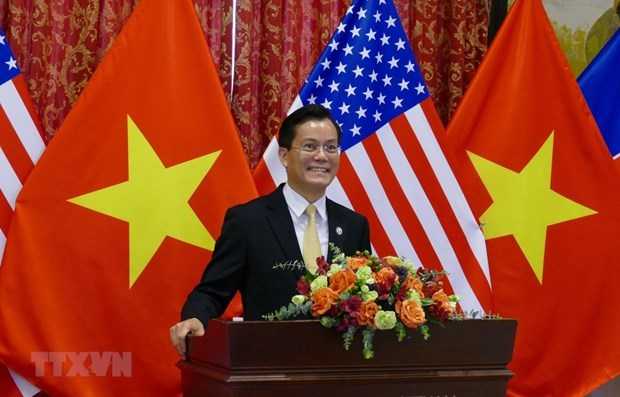 Vietnam, US seek ways to enhance comprehensive partnership hinh anh 1