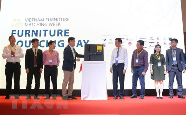 Vietnam Furniture Matching Week kicks off in HCM City hinh anh 1