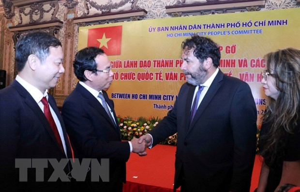 HCM City beefs up cooperation with foreign partners hinh anh 1