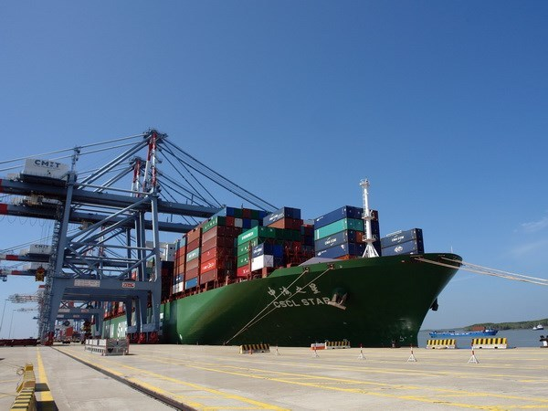 Cai Mep – Thi Vai port receives vessel destined for West Coast of US hinh anh 1