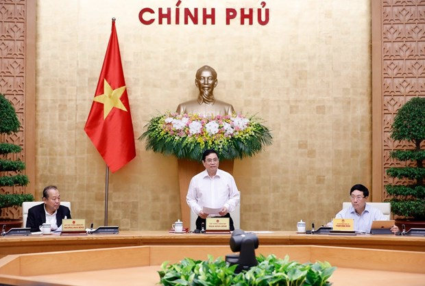 Government looks into tasks for coming time hinh anh 1