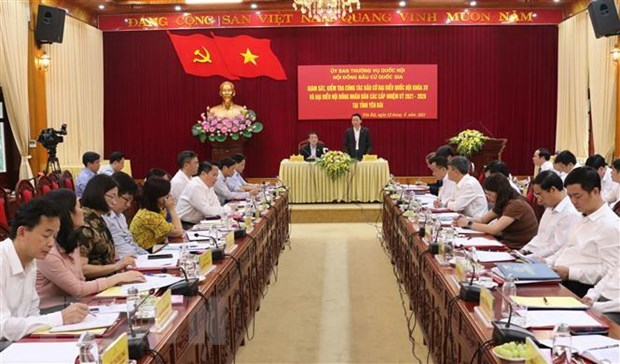 NA Vice Chairman examines election preparations in Yen Bai hinh anh 1