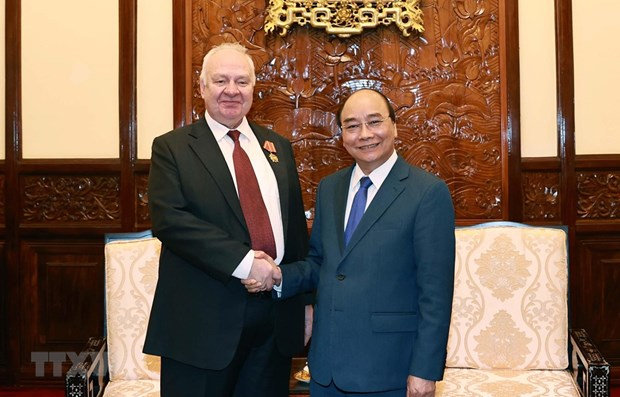 State President hosts outgoing Russian Ambassador hinh anh 1