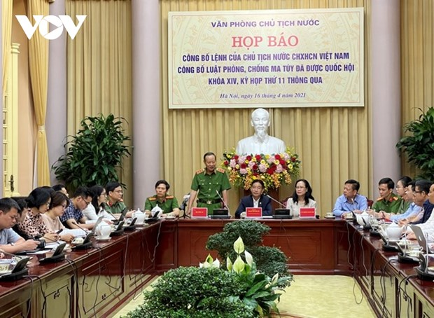 Law on Drug Prevention and Control announced hinh anh 1