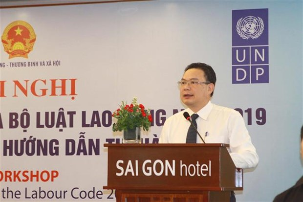 Meeting held to promote enforcement of 2019 Labour Code hinh anh 1