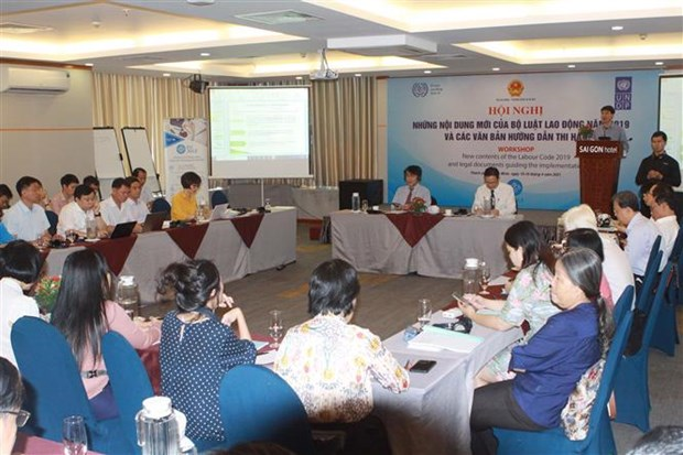Meeting held to promote enforcement of 2019 Labour Code hinh anh 2
