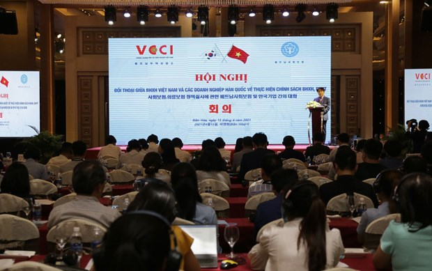 VSS holds dialogue with Korean firms on social, health insurance hinh anh 1