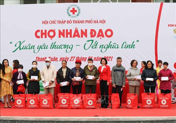 Red Cross and Red Crescent societies boost links to handle challenges hinh anh 1