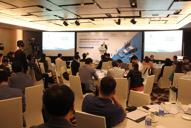 Korean firms look to invest in auto parts industry in Vietnam hinh anh 1