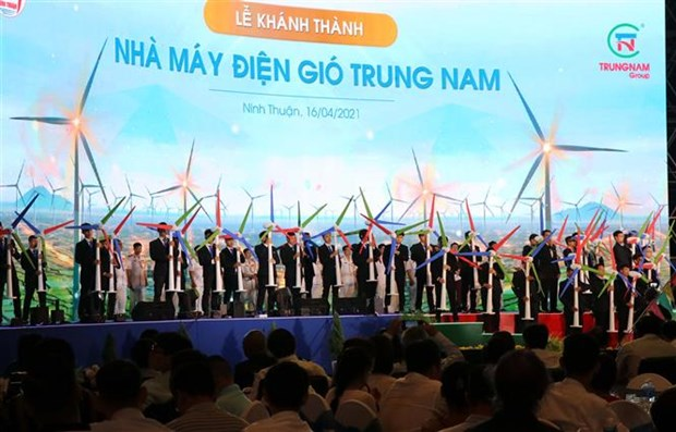 Vietnam's biggest wind power plant operational hinh anh 1