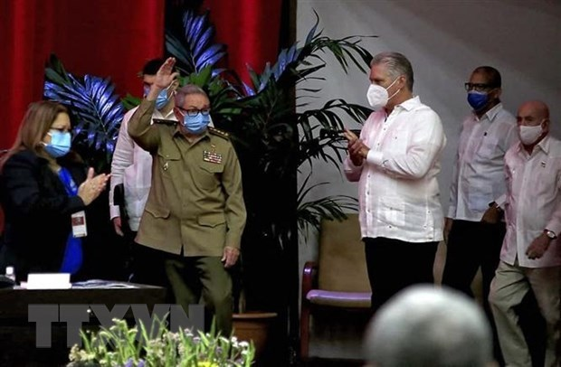 Greetings to 8th National Congress of Communist Party of Cuba hinh anh 1
