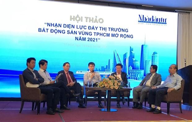 Development skewed in HCM City region real estate market hinh anh 1
