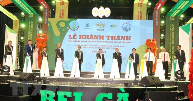 High-tech poultry incubation factory inaugurated in Tay Ninh hinh anh 1