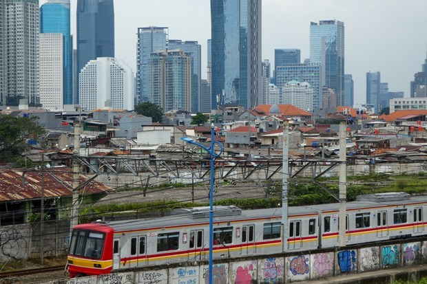 IMF lowers economic growth projection for Indonesia in 2021 hinh anh 1