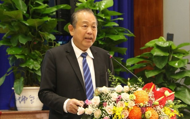 Long An capable of developing high-tech economic zone: Deputy PM hinh anh 1