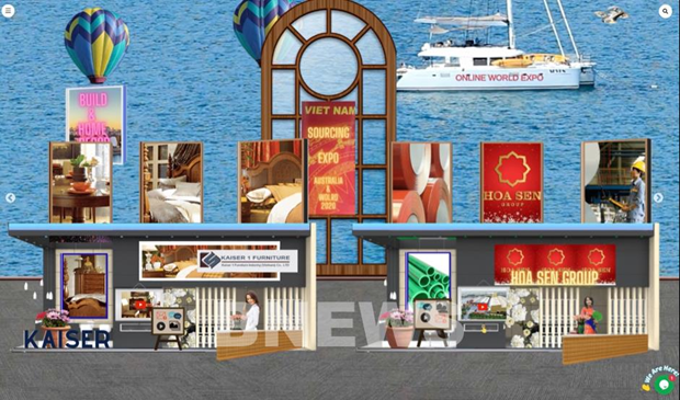 Online exhibition to promote Vietnamese construction products in Australia hinh anh 1
