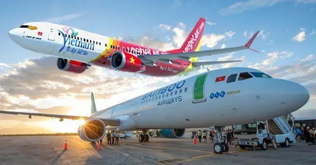 Vietnamese, US firms join hands to develop aviation infrastructure hinh anh 1