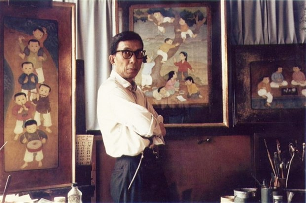 Portrait by late Vietnamese painter sold for record 3.1 million USD hinh anh 2
