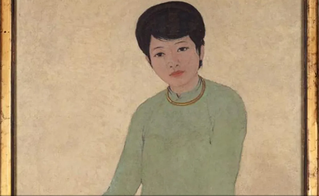 Portrait by late Vietnamese painter sold for record 3.1 million USD hinh anh 1