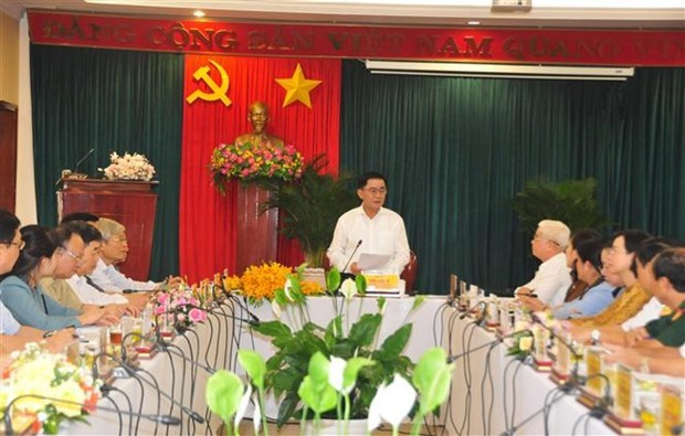 Election preparations in Binh Phuoc inspected hinh anh 1