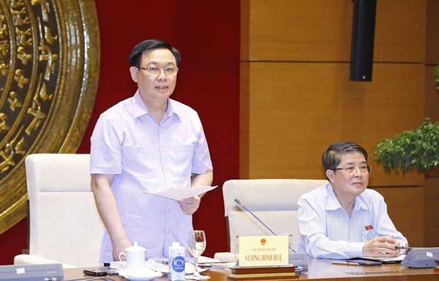 NA leader applauds finance & budget committee's contributions during 14th tenure hinh anh 1
