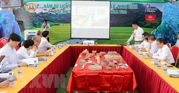 Archaeological excavation, research at Hoa Lu ancient capital reviewed hinh anh 1