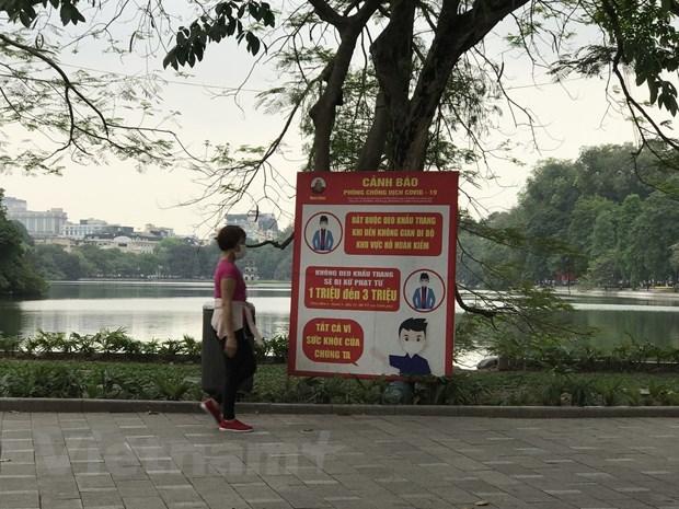 Hanoi, Hai Duong reinforce COVID-19 prevention efforts hinh anh 1