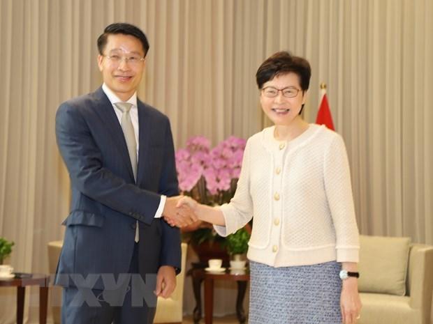 Vietnam, Hong Kong foster collaboration hinh anh 1