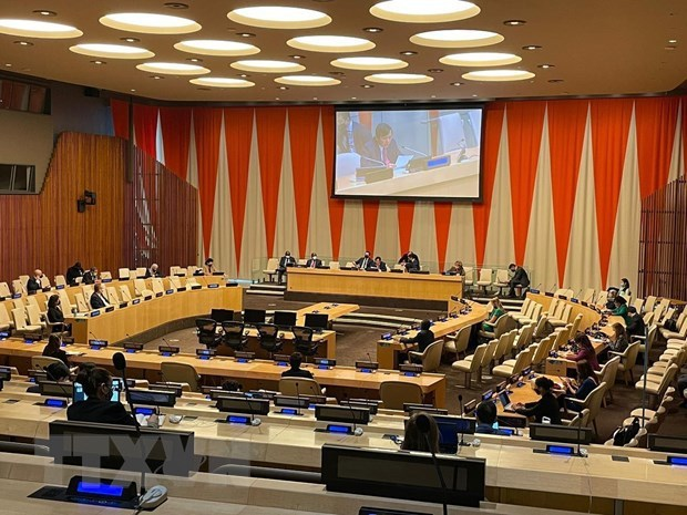 Vietnam convenes meeting to review Month of UNSC Presidency hinh anh 1
