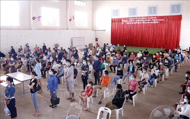 Laos sees high jump in COVID-19 infections hinh anh 1