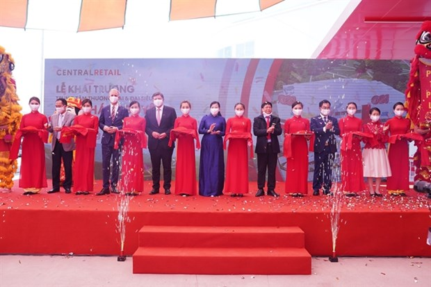 Central Retail launches its largest shopping mall in Thai Nguyen hinh anh 1