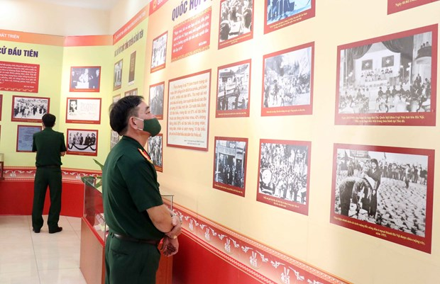Exhibition on National Assembly opens in HCM City hinh anh 2