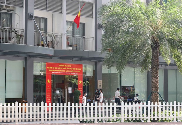 Hanoi detects new COVID-19 infection at Times City hinh anh 1